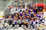 CHAMPIONS!  The Fighting Highlanders Varsity Ice Hockey team defeat the Franklin Regional Panthers 2-0 to hoist Penguins Cup. #HailToTheFightingHighlanders
