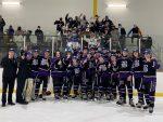 The Fighting Highlanders JV Ice Hockey team defeat the Penn-Trafford Warriors 5-0 to win JV Championship. #HailToTheFightingHighlanders