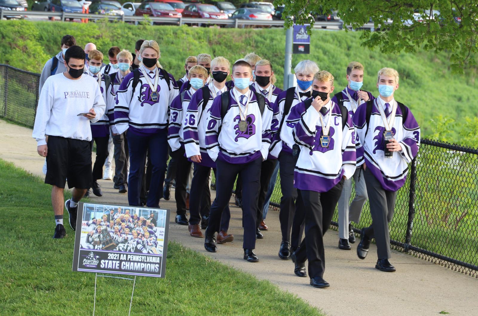 "Baldwin Fighting Highlanders Ice Hockey ""BREAKFAST of CHAMPIONS"""