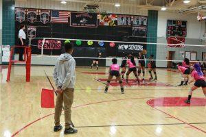 Varsity Volleyball- Senior night vs Wheaton
