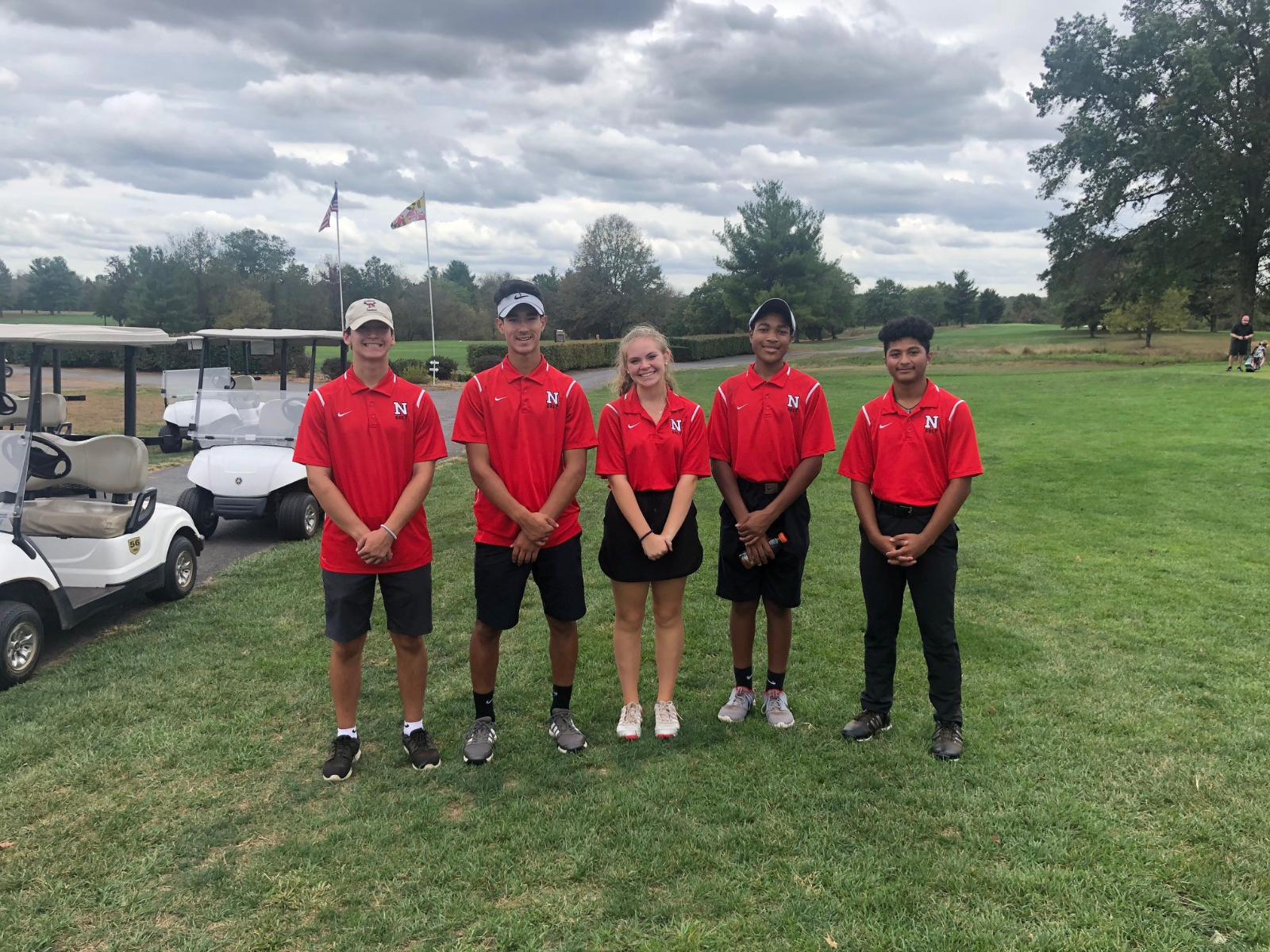 Golf Team finishes season with school record