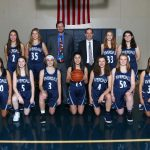 Girls Basketball Play for League Championship