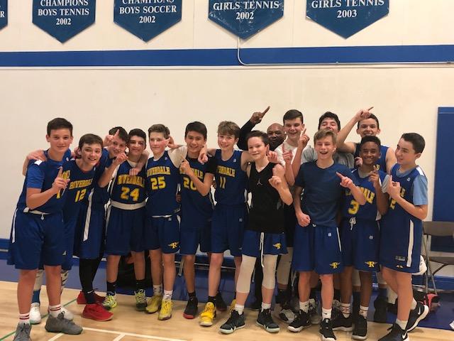 7/8 Boys Win MCL Basketball Championship