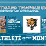 And the Tigard Triangle Smiles Dentistry & Orthodontics December Athlete of the Month is….