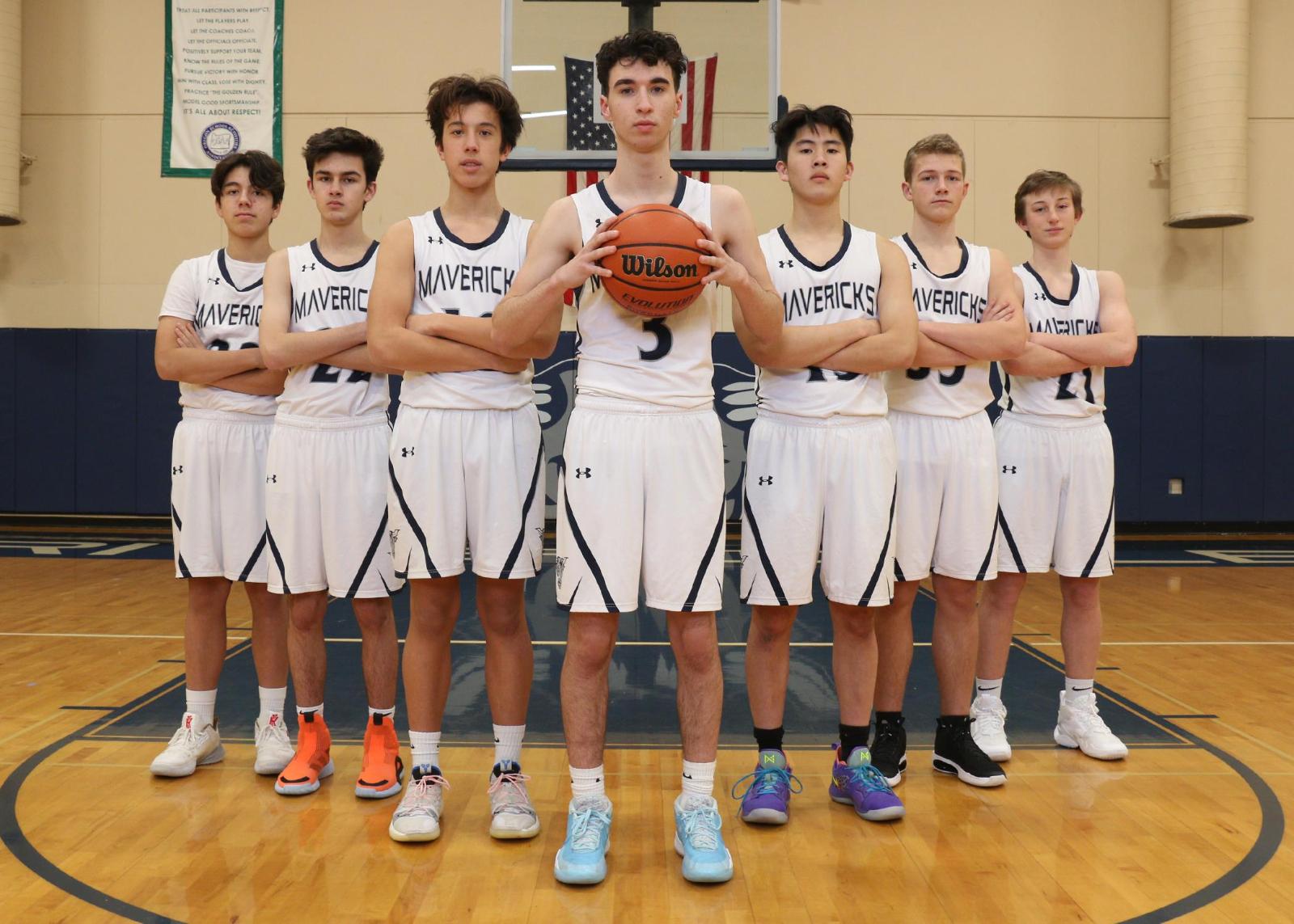 Riverdale Boys Basketball Named Les Schwab Team of the Month