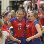 Lady Cards Volleyball Advances to State