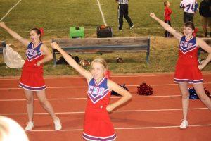 Varsity Cheer Team 2013-2014