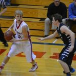 Cheney High School Basketball Varsity Boys falls to Trinity Academy 42-66