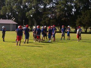 1st Football Practice