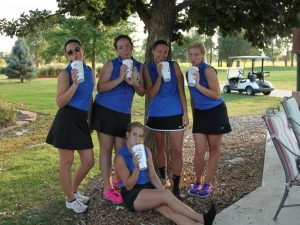 Girls Golf 2014