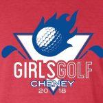 Girls Varsity Golf finishes 6th place at Andale Invitational @ Cherry Oaks, Cheney, KS