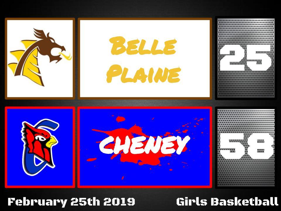 Lady Cardinals defeat Belle Plaine 58-25