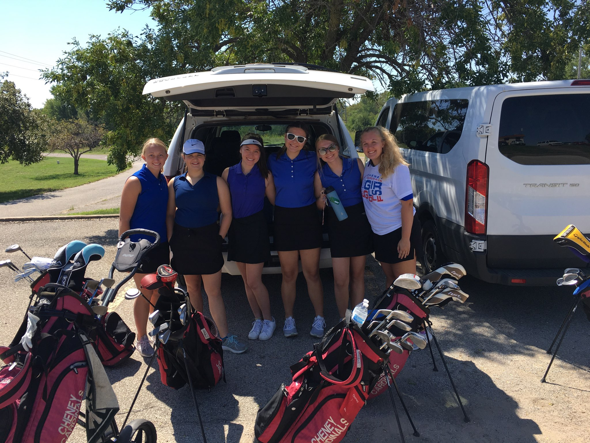 Girls Golf finishes 6th place at Nickerson Tournament @ Crazy Horse Golf Club
