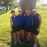 Girls Varsity Golf finishes 7th place at HGC Invitational @ Hesston Golf Course