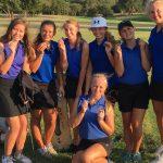 Girls Varsity Golf finishes 2nd place at Pratt High School Invitational