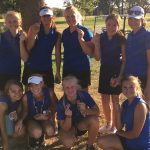 Cheney Girls Varsity Golf earns 3rd place at Home Invitational