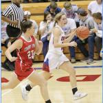 Girls Varsity Basketball beats Hutchinson – Trinity Catholic 57 – 33