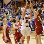 Girls Varsity Basketball beats Wichita Trinity Academy 67 – 54