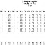 Cheney defeats Kingman