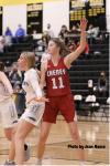 Girls Varsity Basketball beats Douglass 62 – 22