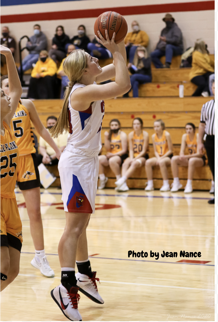 Girls Varsity Basketball beats Fredonia 75 – 12