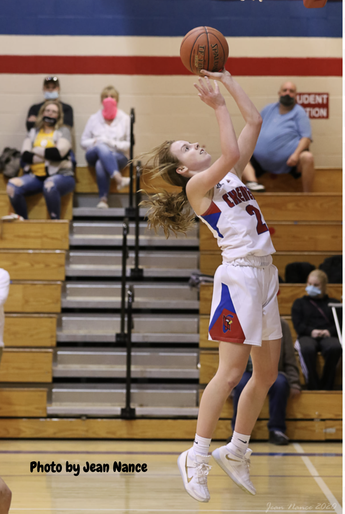 Girls Varsity Basketball beats Halstead 51 – 50