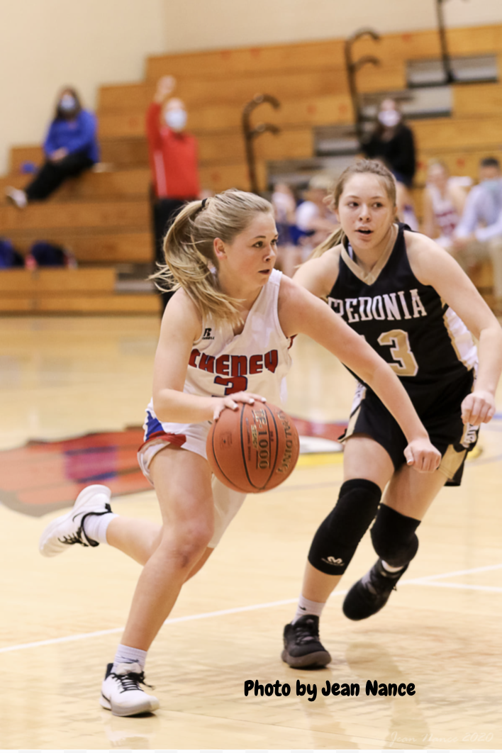 Girls Varsity Basketball beats Frontenac 62 – 46