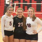 Volleyball Senior Night: Class of 2019