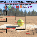 Jackson County Softball is hosting Region 8AAA Softball Tournament 10/1 and 10/3!