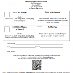 Softball Golf Tournament June 13th 1pm at Traditions!  Only $100 a Golfer
