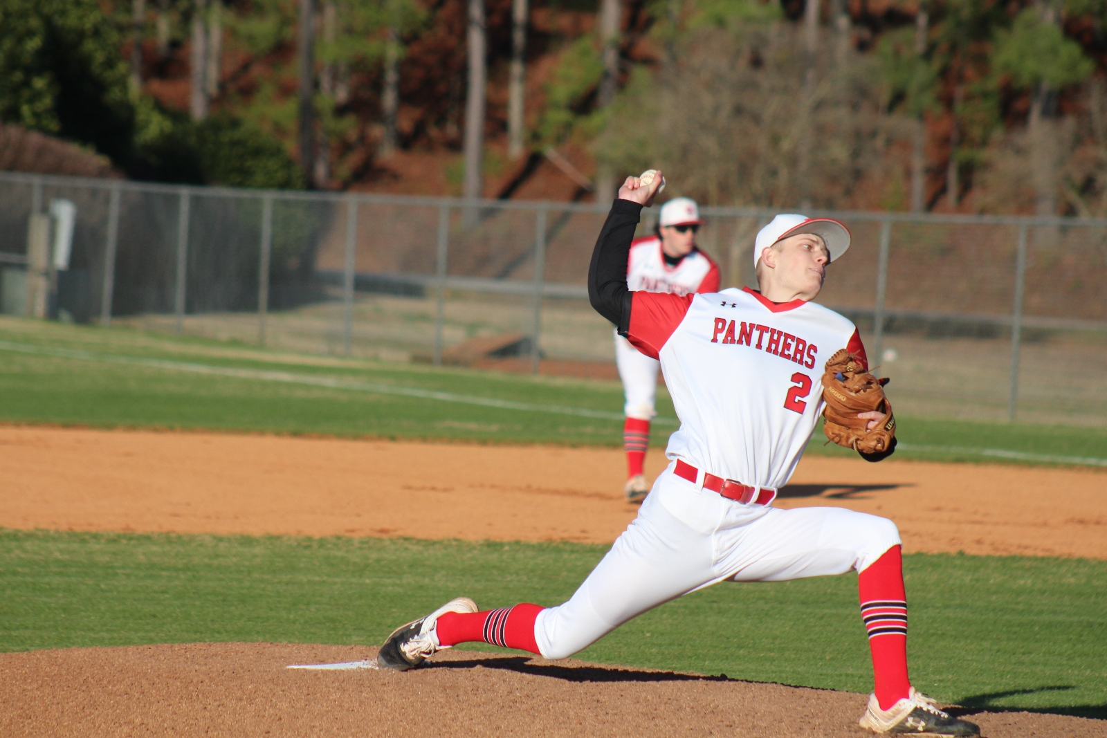 Panther Baseball Splits With Franklin Friday