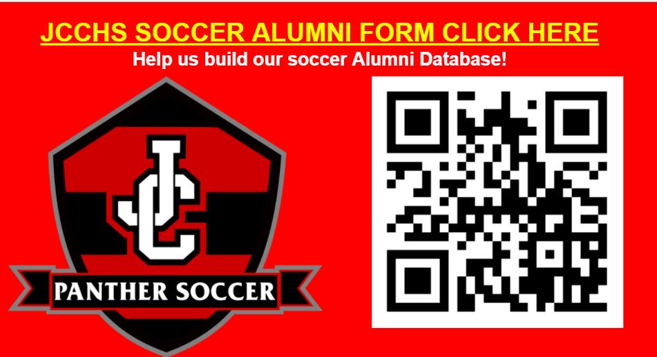 JCCHS Soccer Alumni!  Help us build our soccer Alumni Database!