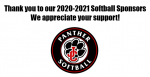 Thank you to our 2020-2021 Softball Sponsors!