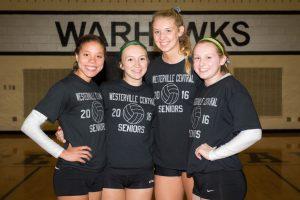 Warhawk VB Senior Night Pics