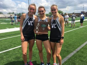 Girls T & F District Meet Pics