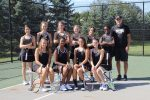 Girls Varsity Tennis falls to New Albany.  Finishes Second in Ohio Division