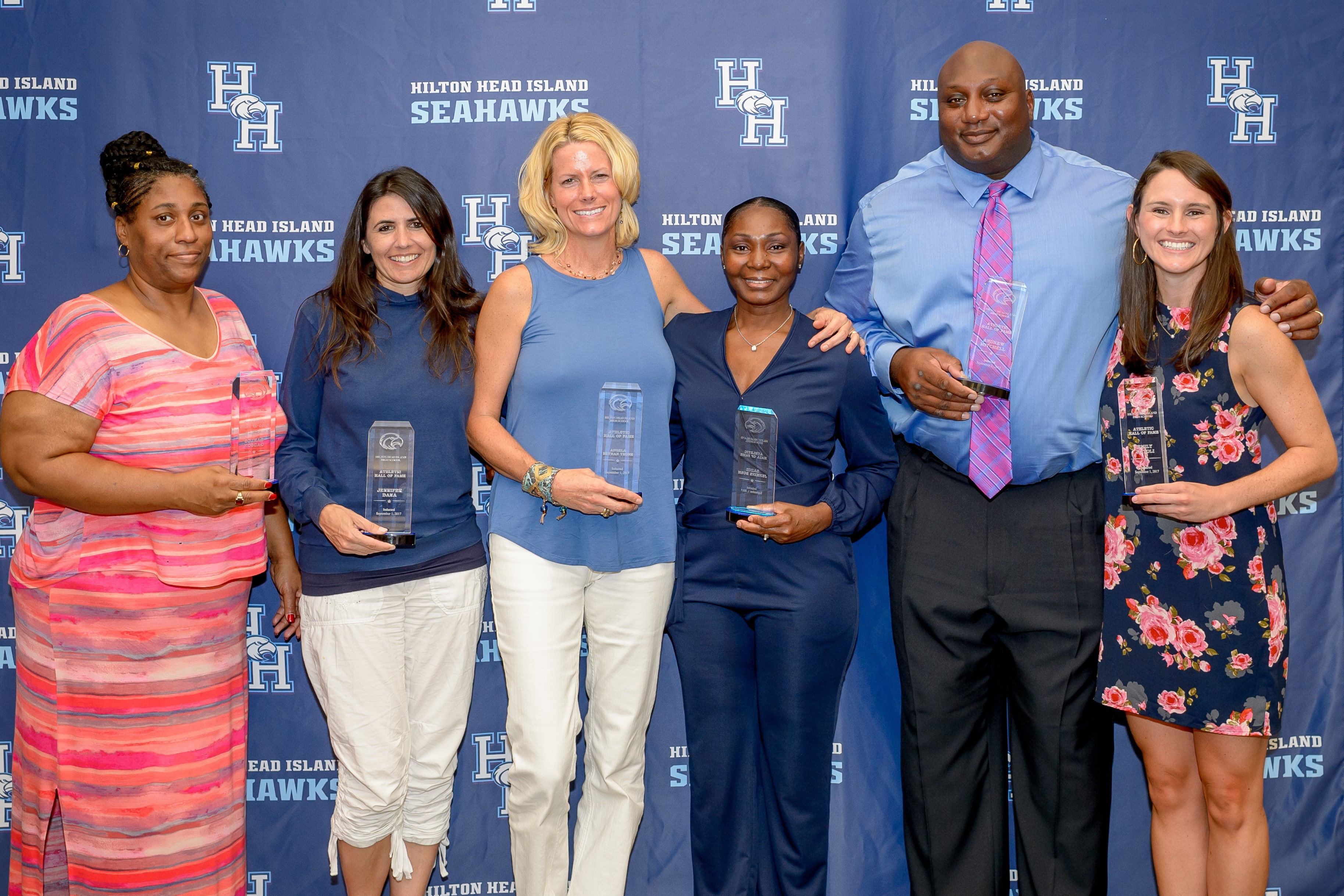 2017 Athletic Hall of Fame Inductees join Hall of Fame September 1st 2017