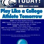 NCAA Eligibility Workshop Nov 29th @ 7pm