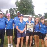 Girls Golf Wins Region Championship