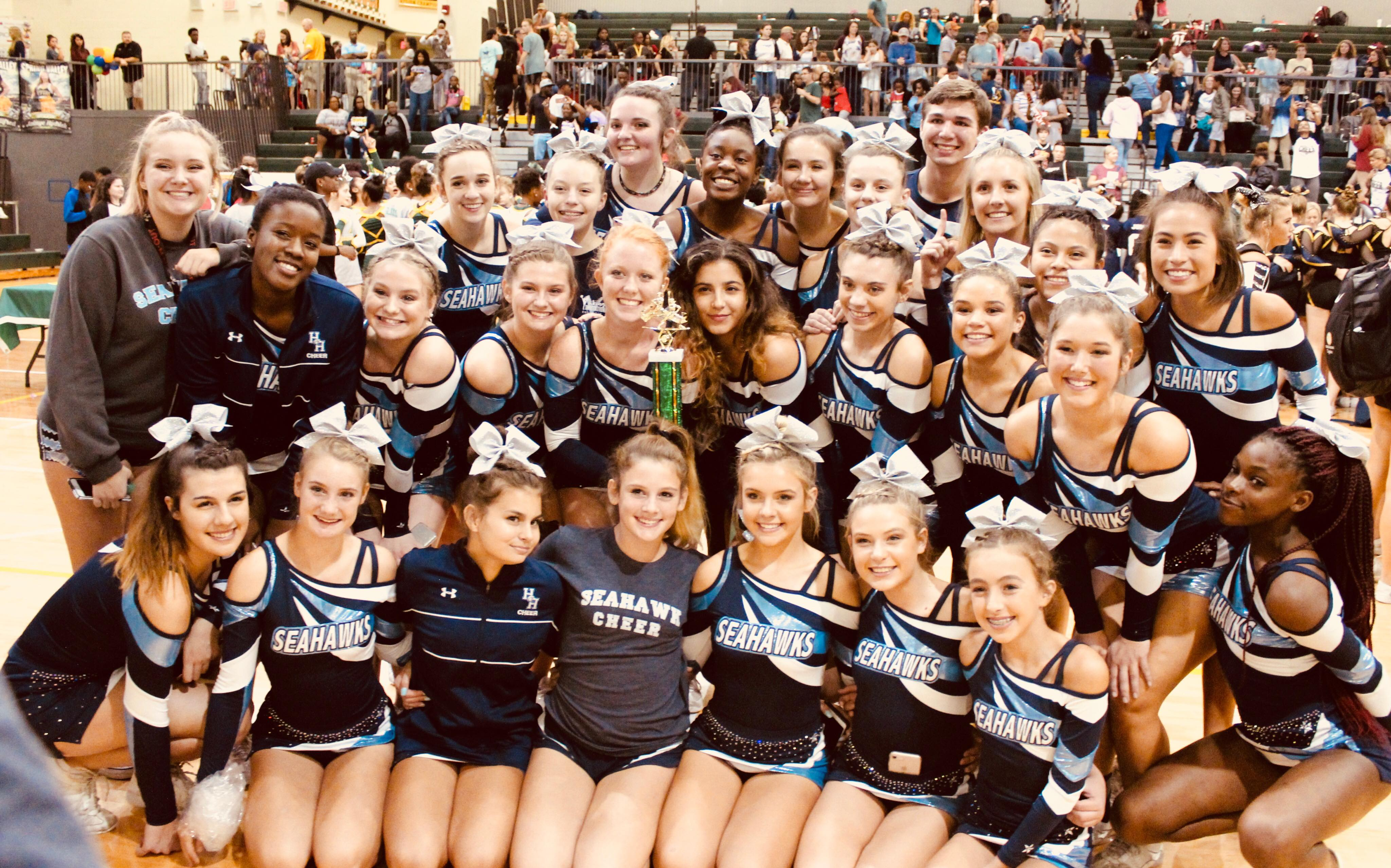 Cheer wins 1st place @ Spring Valley Invitational