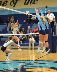 Volleyball vs North Augusta 10/30/18 2nd round playoff match
