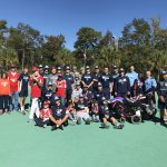 Baseball participates in Miracle League Event