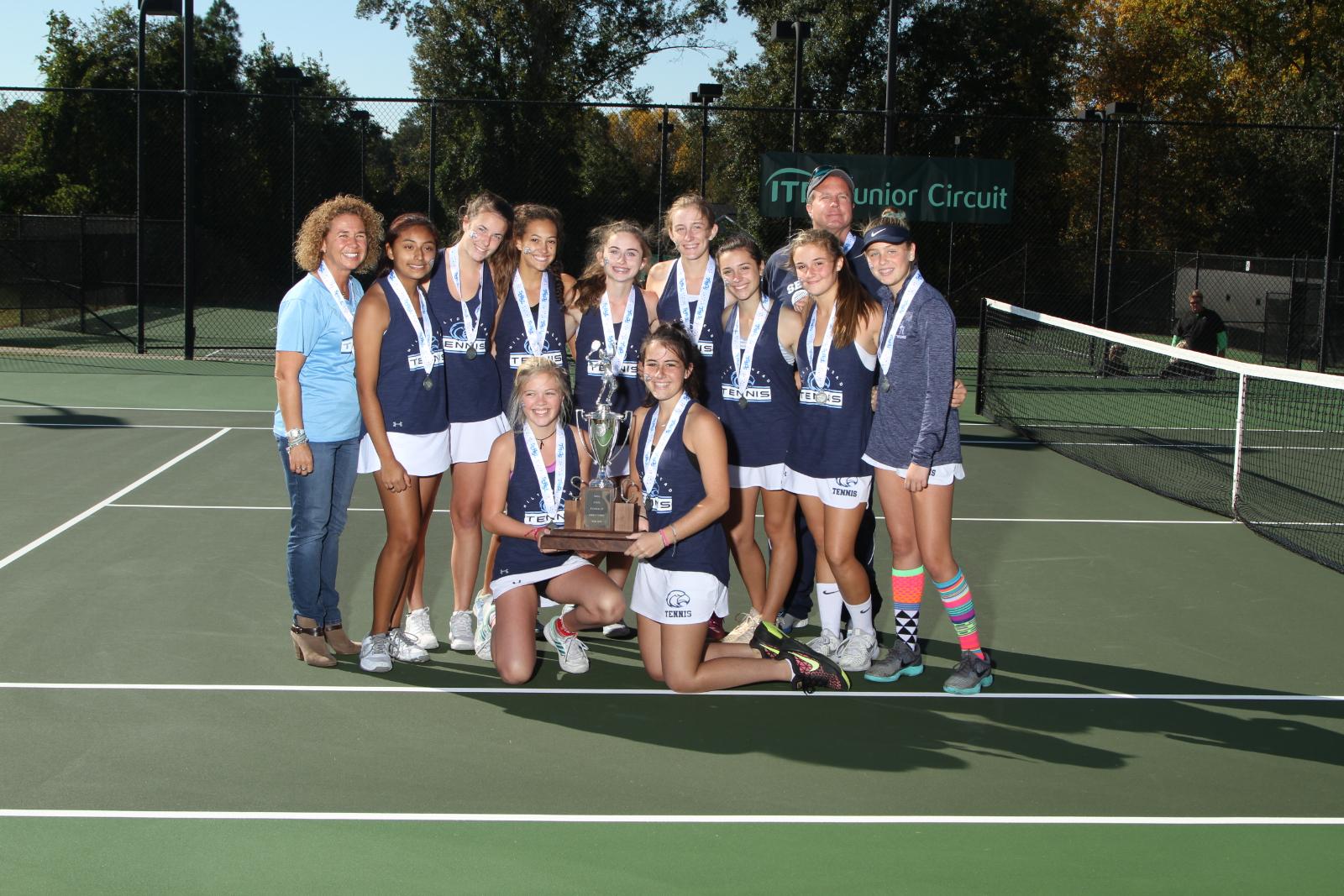 Girls Tennis 2018 4A State Runner Up