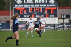 Girls Soccer vs Paidiea