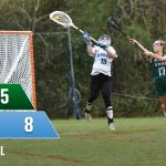 Girls Varsity Lacrosse beats Bluffton to even season series
