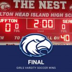 Girls Varsity Soccer beats Bluffton