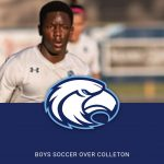 Boys Varsity Soccer beats Colleton County Athletics 6 – 0