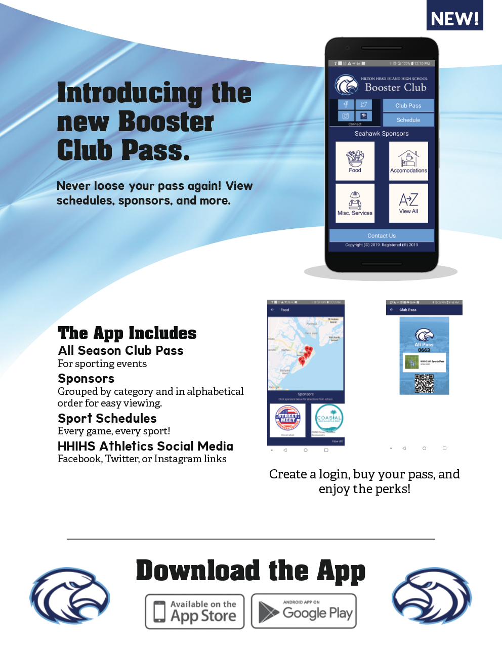 New Booster Pass App and More