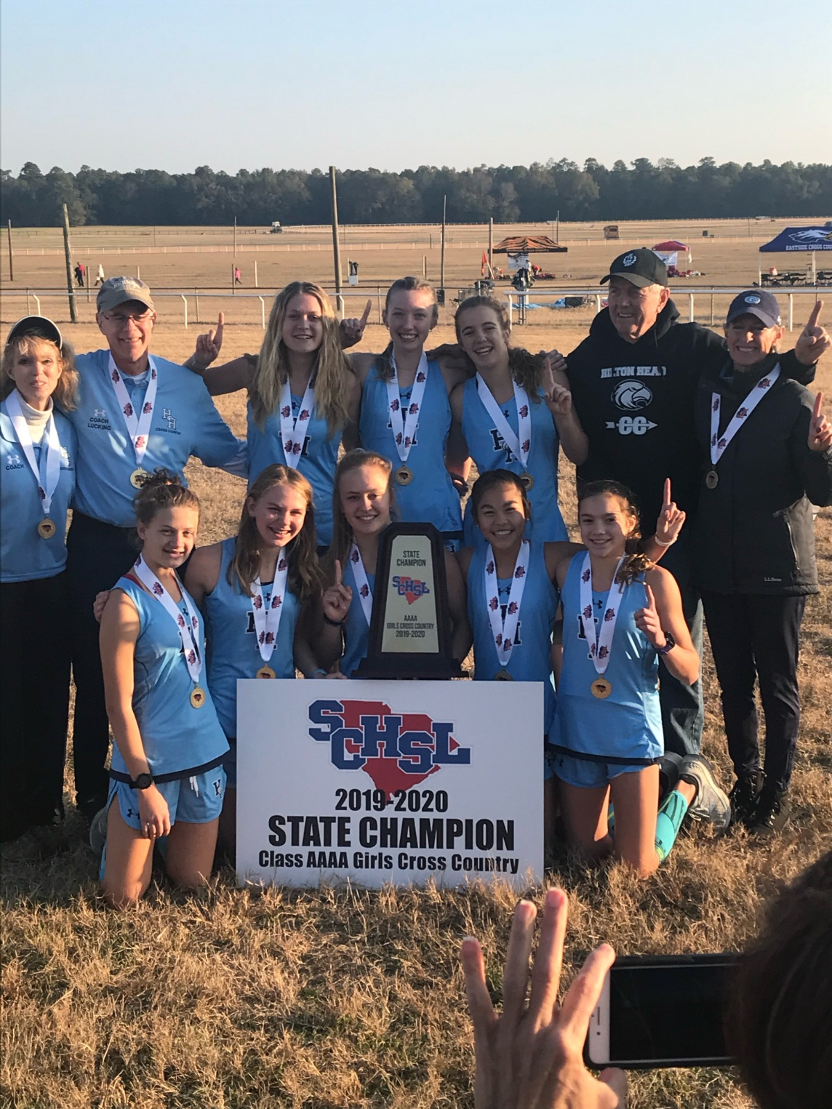 Girls XC 2019 AAAA State Champs Boys XC 3rd Place