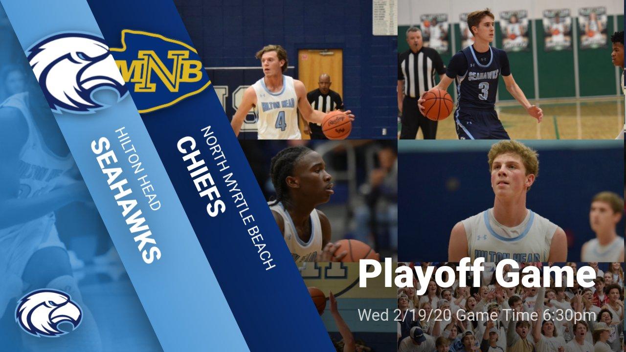 1st Round Boys Basketball game vs N Myrtle Beach Info